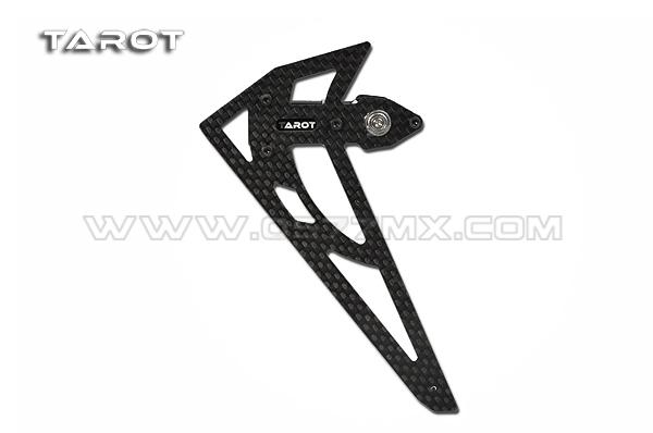 450 PRO NEW CF TAIL BOX SET / BLACK TL48021-03 - FLYING