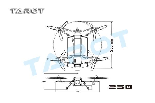 tarot mini 250 through the machine frame tl250a tl250a 28 03 rh tarot rc com Wiring Diagram Symbols Schematic Circuit Diagram