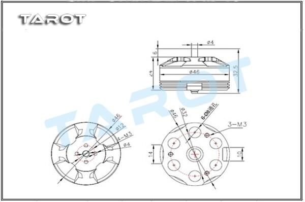 24槽2极电机双三角接线图